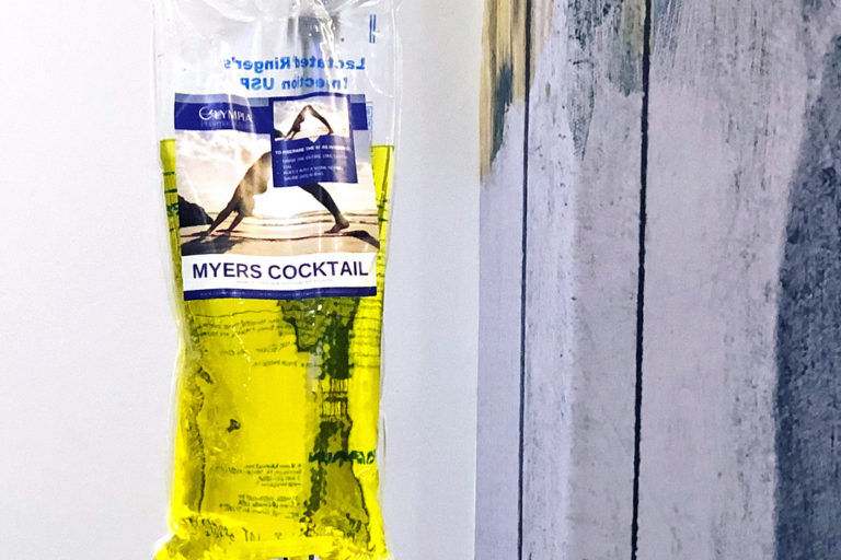 Myers Cocktail at the Shot Shop